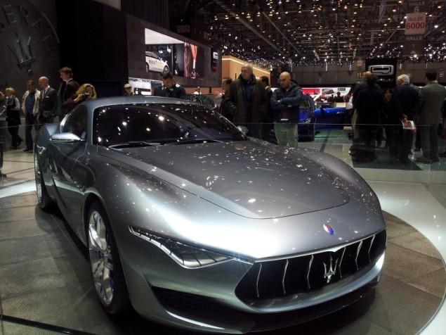 Keith Jones Petroleum Vitae blog - Geneva Motor Show 2014 - Maserati Alfieri
