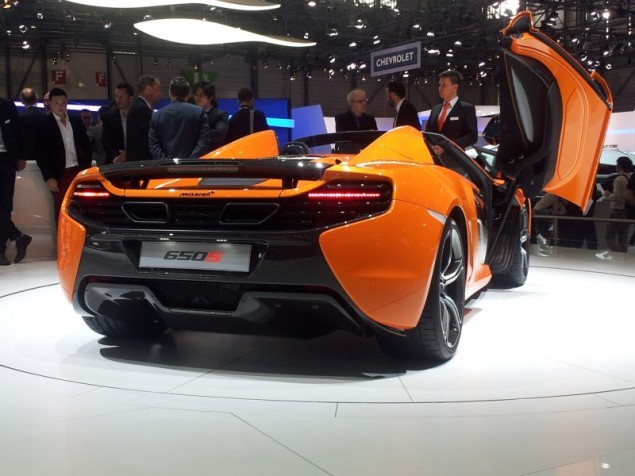 Keith Jones Petroleum Vitae blog - Geneva Motor Show 2014 - McLaren 650S 2