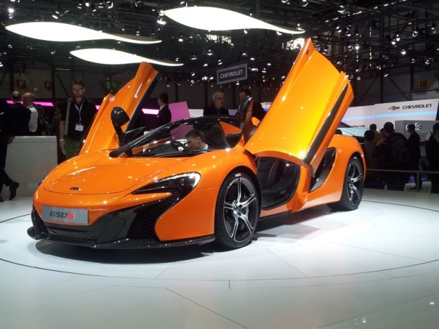 Keith Jones Petroleum Vitae blog - Geneva Motor Show 2014 - McLaren 650S