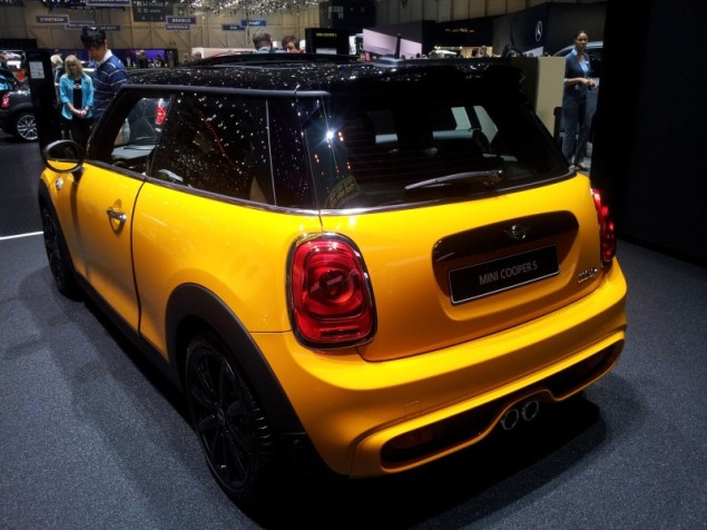 Keith Jones Petroleum Vitae blog - Geneva Motor Show 2014 - new 2014 MINI b