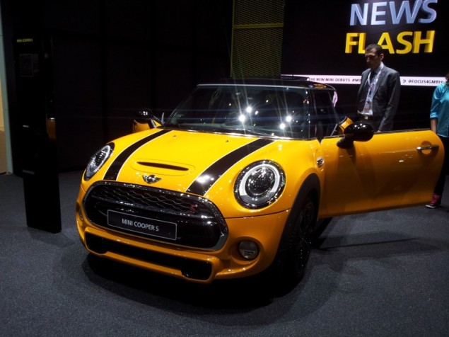 Keith Jones Petroleum Vitae blog - Geneva Motor Show 2014 - new 2014 MINI