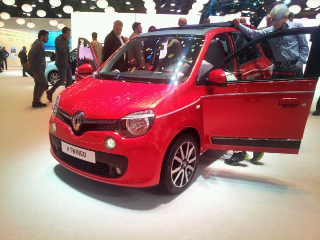 Keith Jones Petroleum Vitae blog - Geneva Motor Show 2014 - new 2014 Renault Twingo