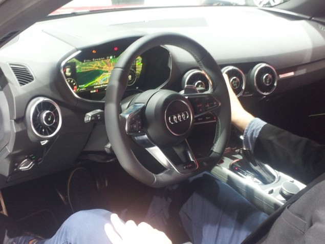 Keith Jones Petroleum Vitae blog - Geneva Motor Show 2014 - new Audi TT interior