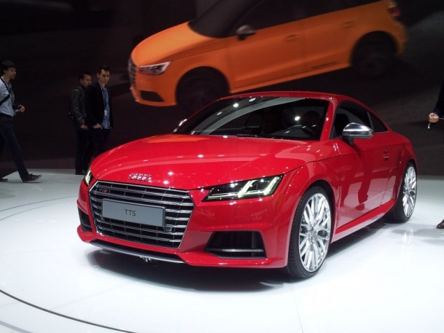 Keith Jones Petroleum Vitae blog - Geneva Motor Show 2014 - new Audi TT
