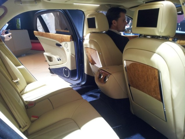 Keith Jones Petroleum Vitae blog - Geneva Motor Show 2014 - new Bentley Mulsanne 2