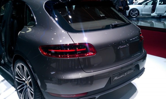 Keith Jones Petroleum Vitae blog - Geneva Motor Show 2014 - Porsche Macan rear