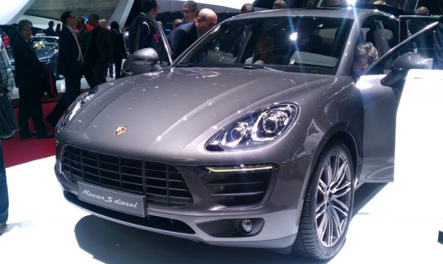 Keith Jones Petroleum Vitae blog - Geneva Motor Show 2014 - Porsche Macan