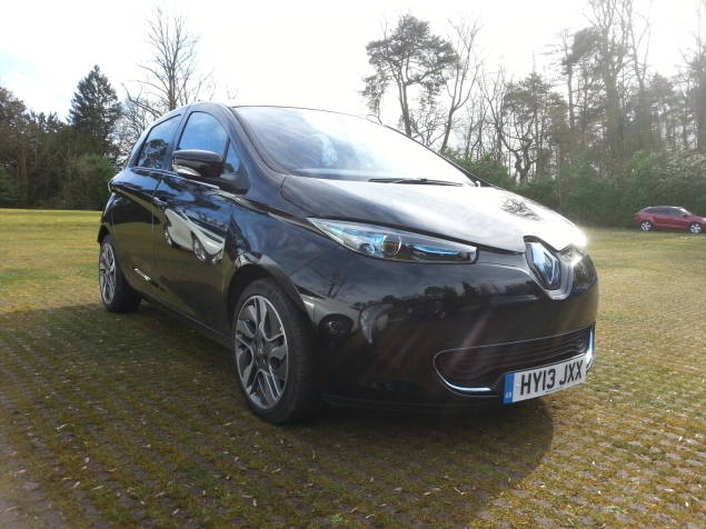 Renault ZOE Kilworth driving day photo February 2014 1