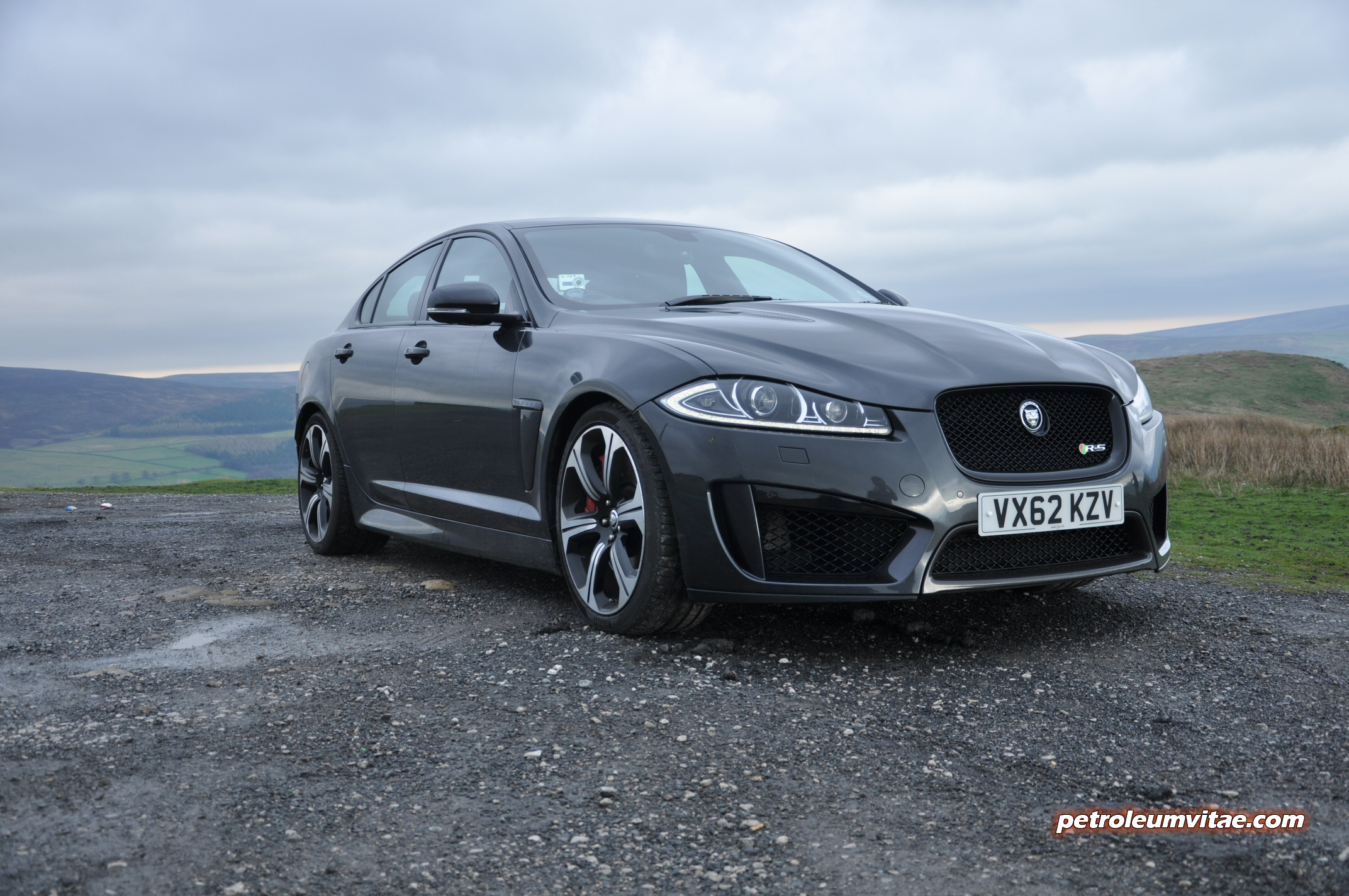 Jaguar XFR-S saloon full road test review by Oliver ...