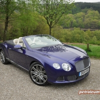 Bentley Continental GTC W12 Speed convertible road test review by Oliver Hammond