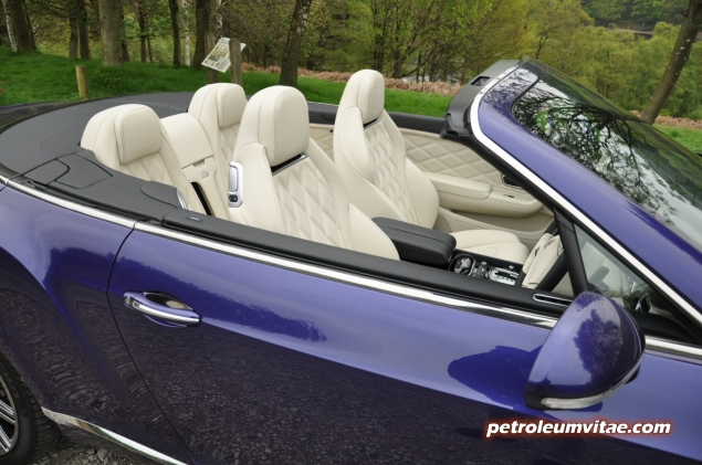 2014 Bentley Continental GTC W12 Speed convertible road test review by Oliver Hammond blogger Keith Jones Petroleum Vitae - photo - side 3