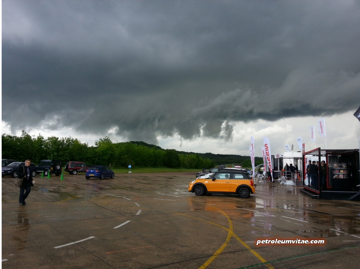 Smmt Test Day 2014 Complete With A Spot Of Rain