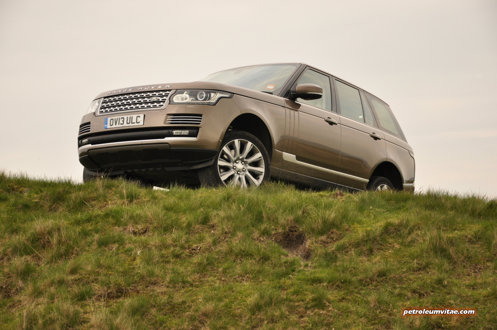 One day. Six hundred and fifty miles. A Range Rover SDV8 ...
