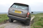 2014-05 New Range Rover SDV8 Autobiography diesel road test review photo - exterior - dales - rear 34d