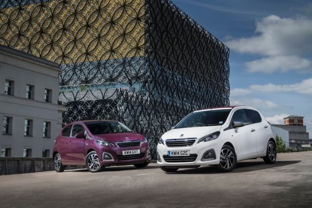 Peugeot 108 launch first drive Sam Sheehan