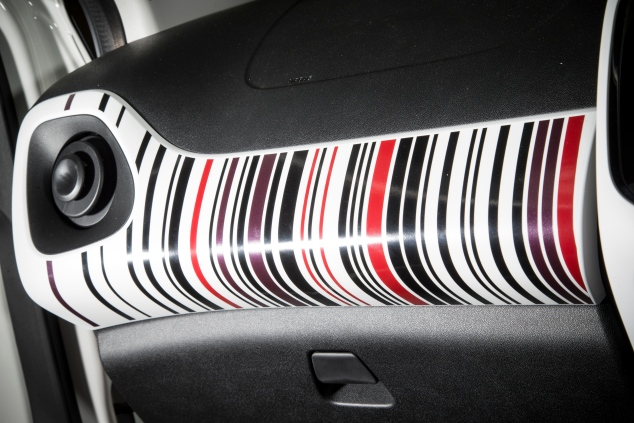 Peugeot 108 UK launch interior Sam Sheehan
