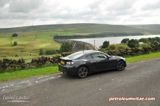 Toyota GT86 full road test review blogger Oliver Hammond Keith Petroleum Vitae photo - rear 34b