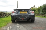 Toyota GT86 full road test review blogger Oliver Hammond Keith Petroleum Vitae photo - rear