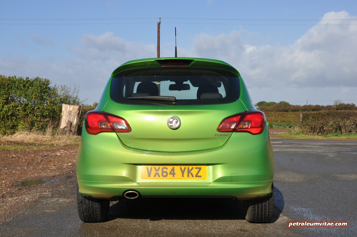 New For 2015 Vauxhall Corsa First Impressions 171 Petroleum