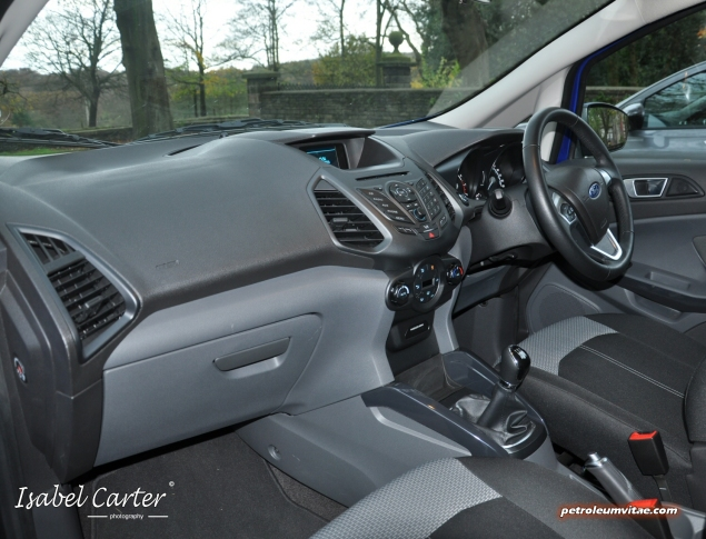2014 Ford EcoSport 1-litre EcoBoost Titanium UK road test review - photo - dashboard 2