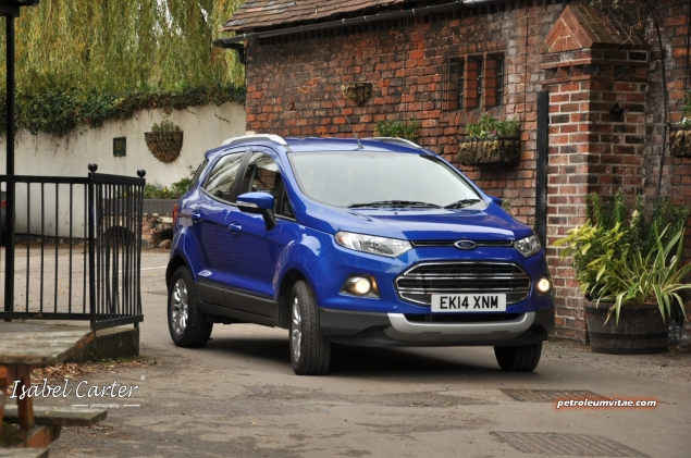 2014 Ford EcoSport 1-litre EcoBoost Titanium UK road test review - photo - front d