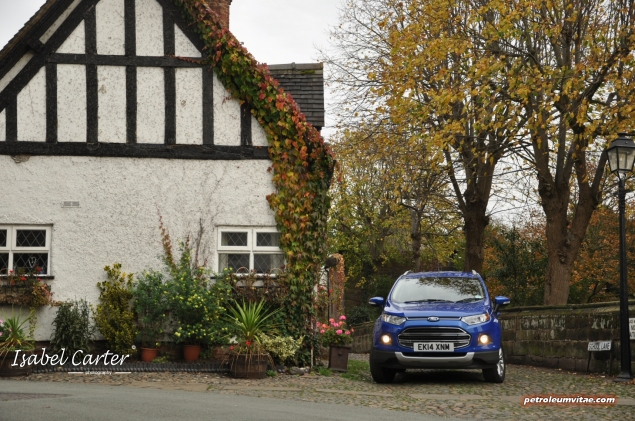 2014 Ford EcoSport 1-litre EcoBoost Titanium UK road test review - photo - front f