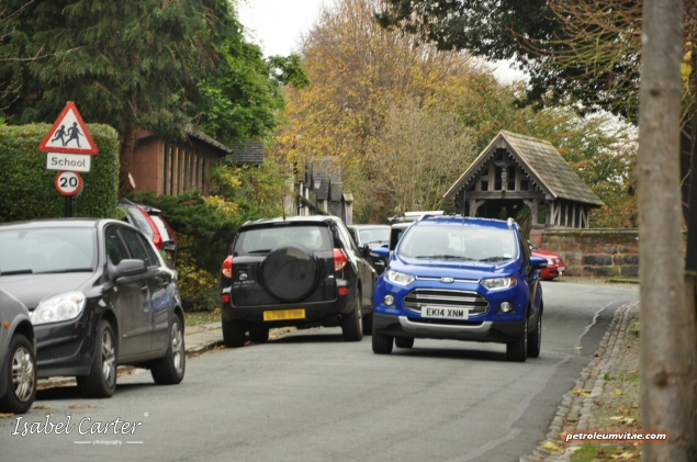 2014 Ford EcoSport 1-litre EcoBoost Titanium UK road test review - photo - front n