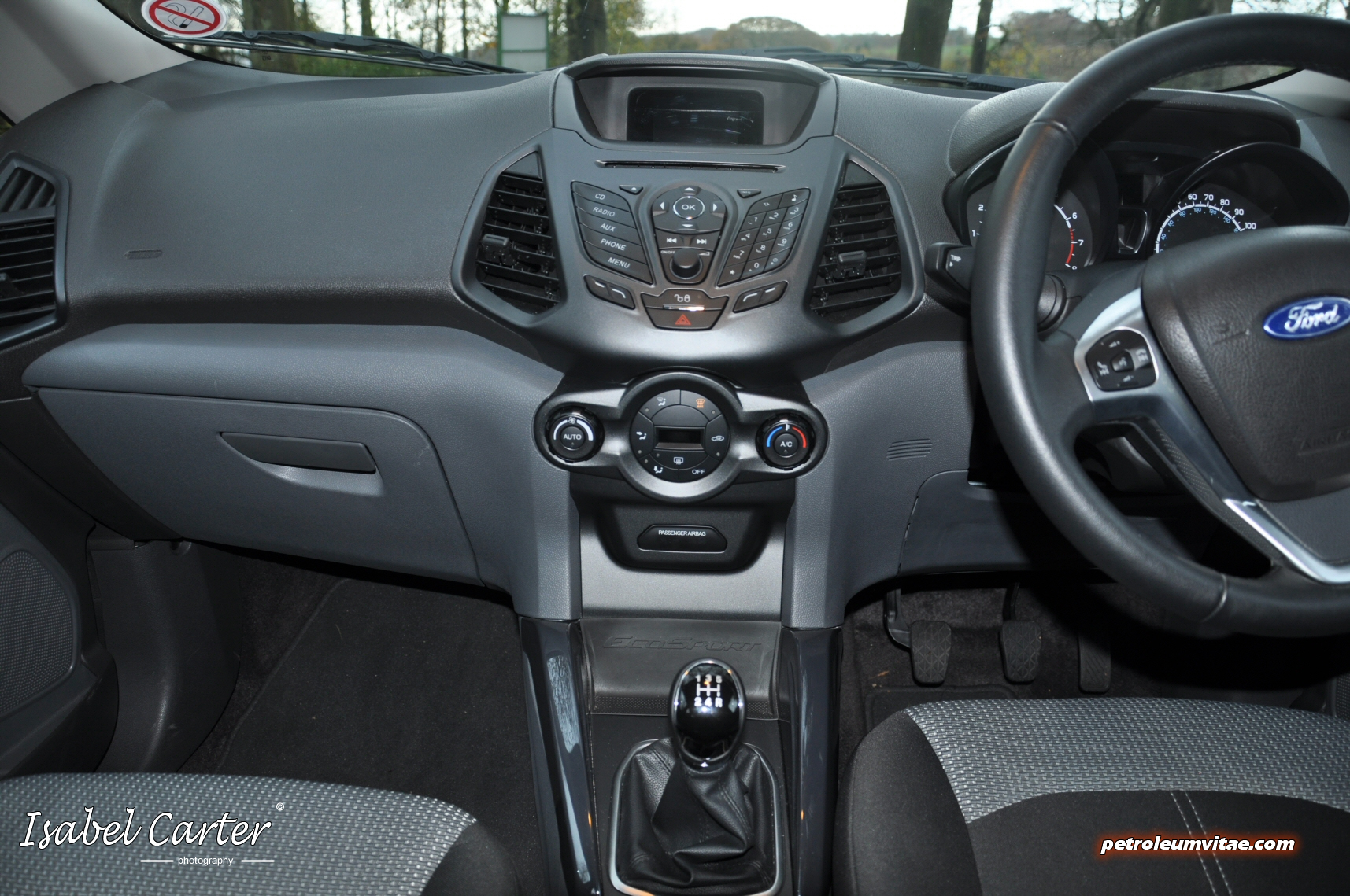 Ford Ecosport Interior White Ford EcoSport T...