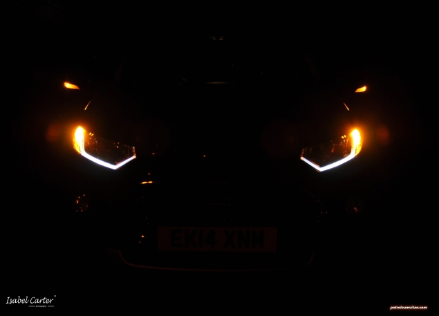 2014 Ford EcoSport 1-litre EcoBoost Titanium UK road test review - photo - lights 3