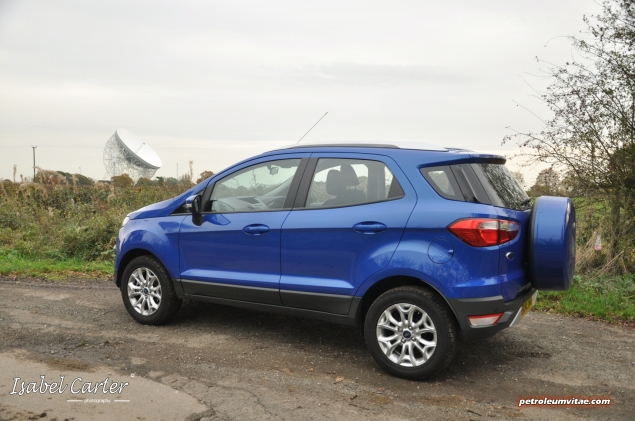 2014 Ford EcoSport 1-litre EcoBoost Titanium UK road test review - photo - side