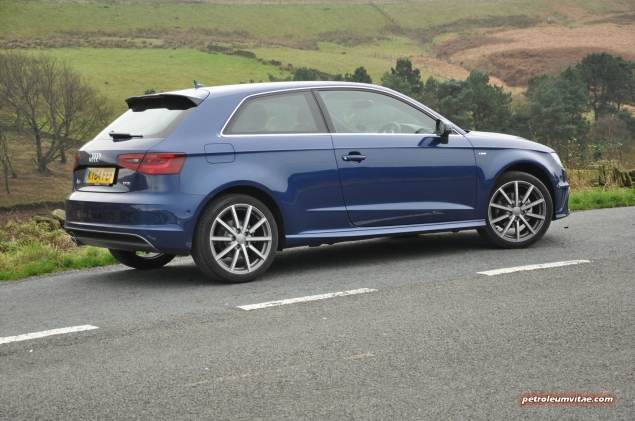 A3 1.4 TFSI CoD S line 150 PS manual full road test blogger review - photo - side 1