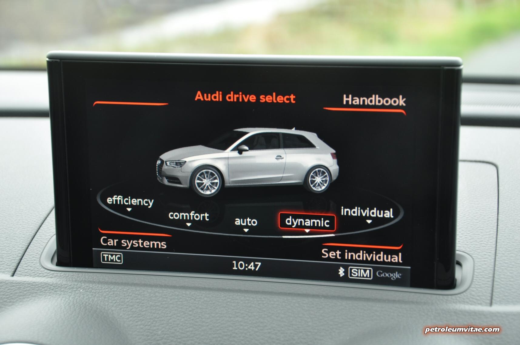Audi A3 1 4 TFSI CoD S Line Full Road Test Review Petroleum Vitae