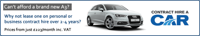 Audi A3 personal contract hire and leasing PCH deals offers - VC