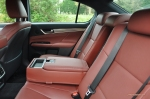 2014 Lexus GS300h-f F Sport road test review blogger - photo - back seats