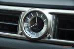 2014 Lexus GS300h-f F Sport road test review blogger - photo - clock
