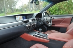 2014 Lexus GS300h-f F Sport road test review blogger - photo - dashboard