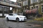 2014 Lexus GS300h-f F Sport road test review blogger - photo - front 34c