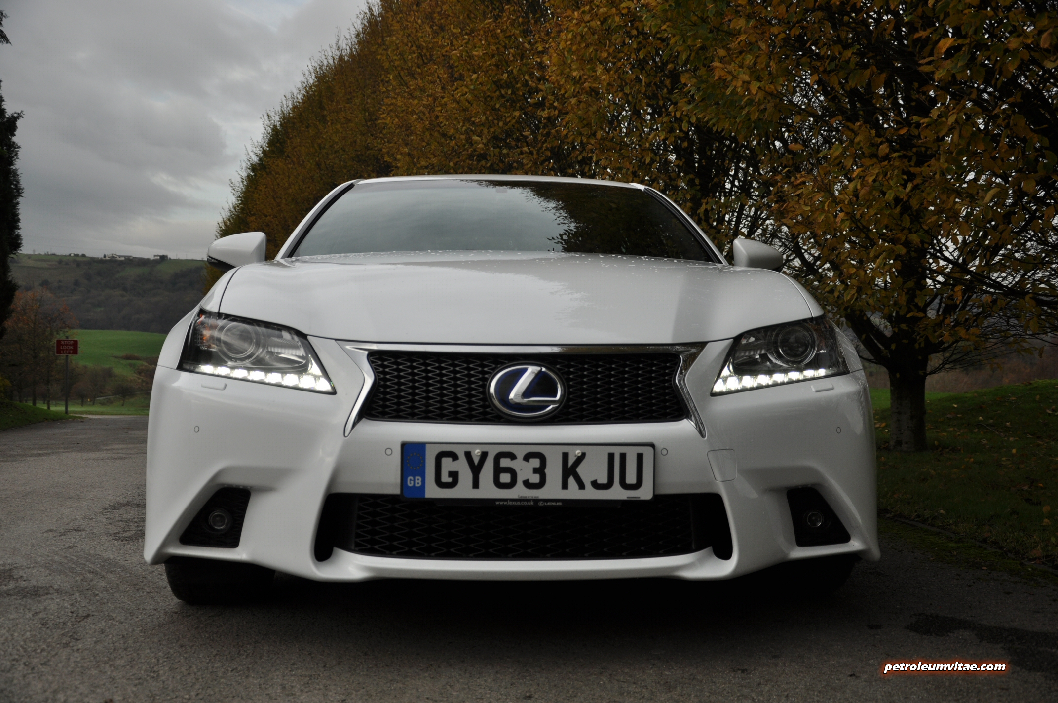 Lexus GS300h F Sport full road test review Petroleum Vitae