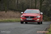 2014 Volvo V60 PHEV Plug-in Hybrid D6 AWD Geartronic R-Design Lux Nav full road test review report evaluation business private mpg sense cost price - Oliver Hammond blogger journalist writer - photo - approaching 3