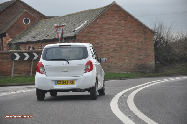 2015 January Suzuki Celerio city car UK launch automotive motoring blogger writer review by Oliver Hammond - photo - driving