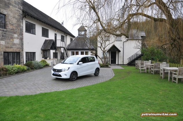 2015 January Suzuki Celerio city car UK launch automotive motoring blogger writer review by Oliver Hammond - photo - hotel