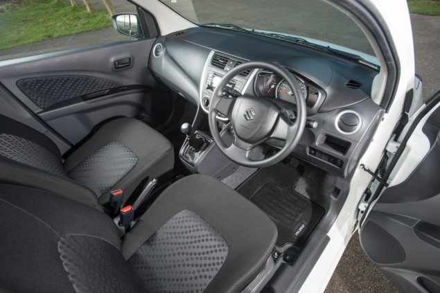 2015 January Suzuki Celerio city car UK launch automotive motoring blogger writer review by Oliver Hammond - photo - interior