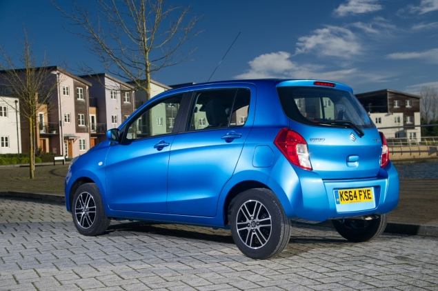 2015 January Suzuki Celerio city car UK launch automotive motoring blogger writer review by Oliver Hammond - photo - rear 34