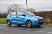 2015 January Suzuki Celerio city car UK launch automotive motoring blogger writer review by Oliver Hammond - photo - side