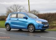 2015 January Suzuki Celerio city car UK launch automotive motoring blogger writer review by Oliver Hammond - photo - side