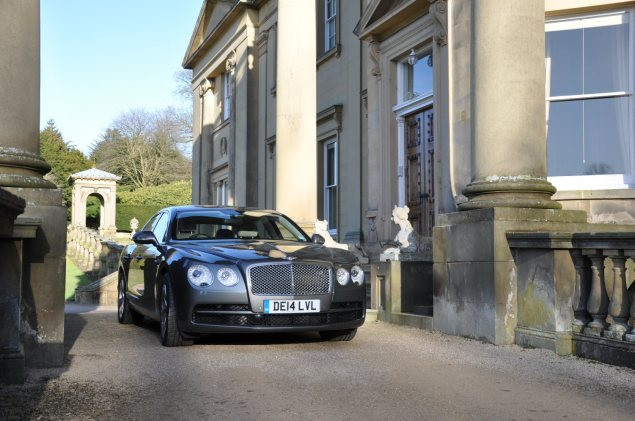 2014-15 Bentley Flying Spur V8 Mulliner road test review report freelance automotive motoring blogger journalist writer Oliver Hammond - photo wallpaper - Broughton Hall 2