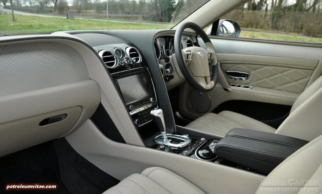 2014-15 Bentley Flying Spur V8 Mulliner road test review report freelance automotive motoring blogger journalist writer Oliver Hammond - photo wallpaper - interior