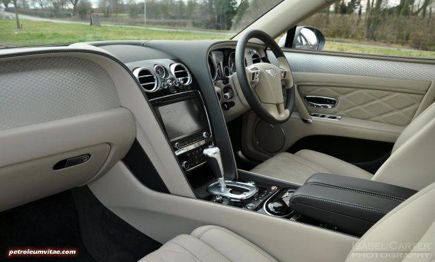 2014-15 Bentley Flying Spur V8 Mulliner road test review report freelance automotive motoring blogger journalist writer Oliver Hammond - photo wallpaper - interior