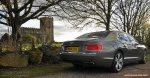 2014-15 Bentley Flying Spur V8 Mulliner road test review report freelance automotive motoring blogger journalist writer Oliver Hammond - photo wallpaper - rear 34