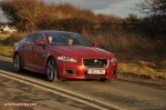 2014 2015 Jaguar XJR full road test review report blogger automotive writer freelance published motoring journalist Oliver Hammond photographer Isabel Carter - driving 7